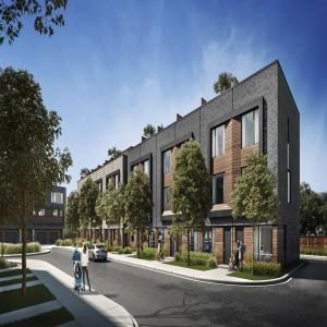 Terraces at Eglinton Towns - project