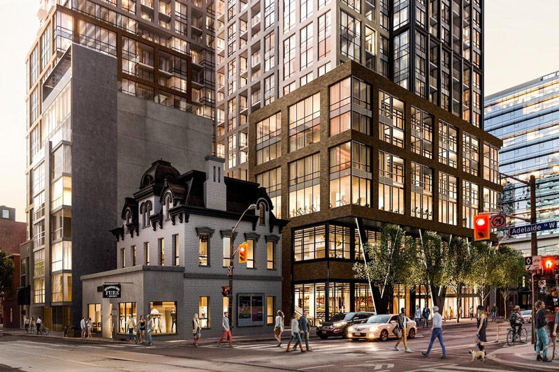 Peter & Adelaide Condos - project