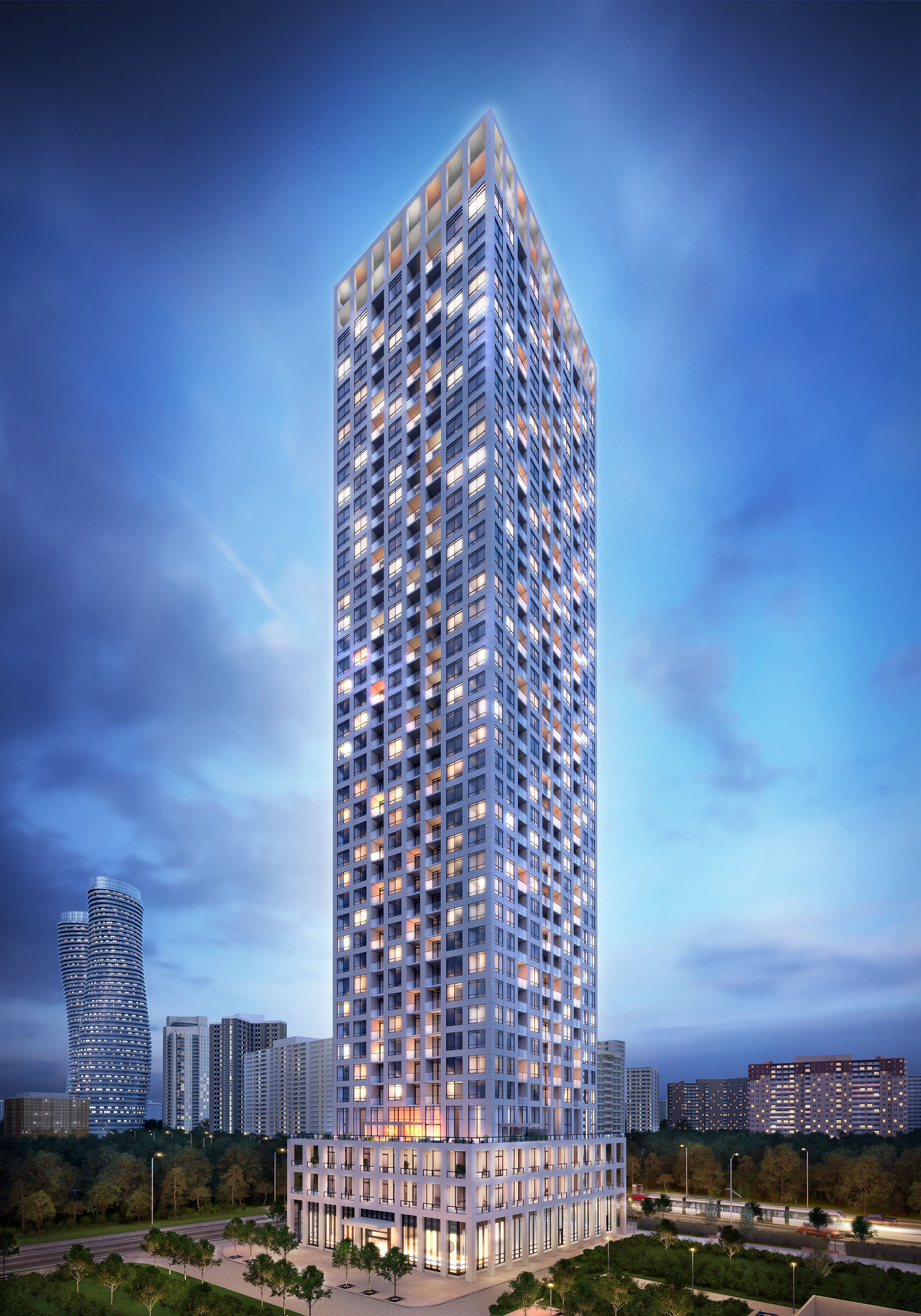 Edge Towers - project